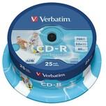 Verbatim CD-R 700MB 52x Super AZO Wide Nr. 43439 25er Spindel Printable