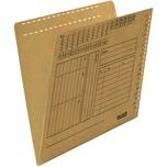 Falken Einstellmappe A4 braun Nr. 80004377 230g/m² Karton (100 Stück)