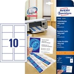 ZWF Visitenkarten weiß 185g Nr. C32010-10 PA 100Stück