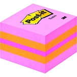 Post-it Haftnotiz 51x51mm pink mini Nr. 2051-P Würfel à 400 Blatt