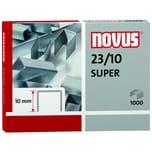 Novus Blockhefterklammern 23/10 Super Nr. 042-0531 PA 1.000 Stück verzinkt