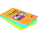 Post-it Haftnotiz Super Sticky 102x152mm Nr.46453SSA liniert 3 Block à 45 Blatt