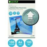 Leitz Laminierfolientasche A4 glänzend Nr. 7480 PA 100Stück glasklar iLam
