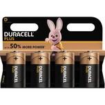 Duracell Batterie Alkaline 019201 Mono D LR20 1.5V 4 St./Pack.