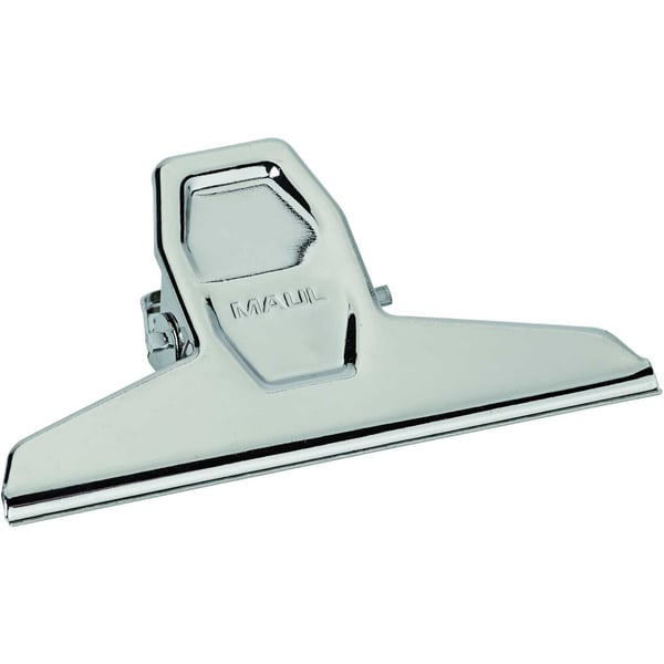 Maul Briefklemmer Maulpro 125mm silber Nr. 2101296 Klemmweite 30mm