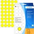 Herma Markierungspunkt 19mm gelb Nr. 2251 PA 1.280 Stück