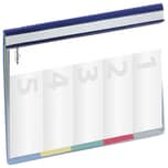 Durable Organisationshefter Divisoflex Nr. 2557-06.blau.Vorderteil= Sichttasche