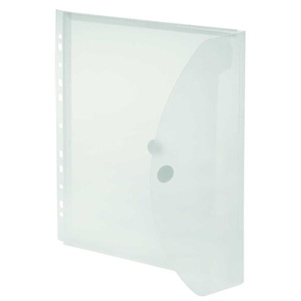 FolderSys Sichttasche A4 PP transparent Nr. 40109-04 PA 10St 20cm Dehnfalte