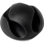 Durable Kabelclip CAVOLine CLIP 2 503837 2Kabel graphit 6 St./Pack.