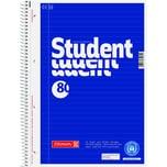 Brunnen Collegeblock Student Recycl. A4 Nr. 106783101 80Blatt70g liniert