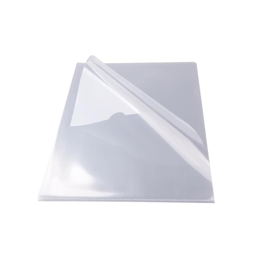 proohne Office Sichthülle A4 PP glasklar Nr. 10330173. 0.11mµ PA=100St.oben offen