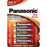 Panasonic Batterie Mignon AA Alkaline Nr. 00235899. LR06. 1.5V. PA= 4Stk
