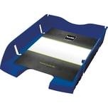Helit Briefablage A4/C4 blau Nr. H2363534 bruchsicheres PET