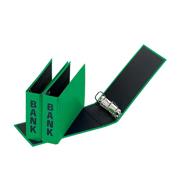 Pagna Baordner Basic Colours din lang Nr. 40801-05. Pappe grün. 50mm