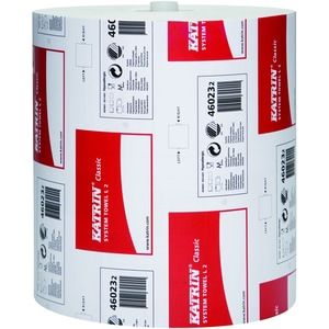 Katrin Handtuchrolle 460232 2lagig 21cmx200m 851Bl. 6 Rl./Pack.