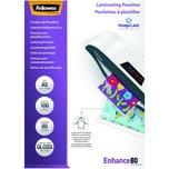 Fellowes Laminierfolie Enhance A5 80mic Nr. 5306002 PA100Stk glänzend