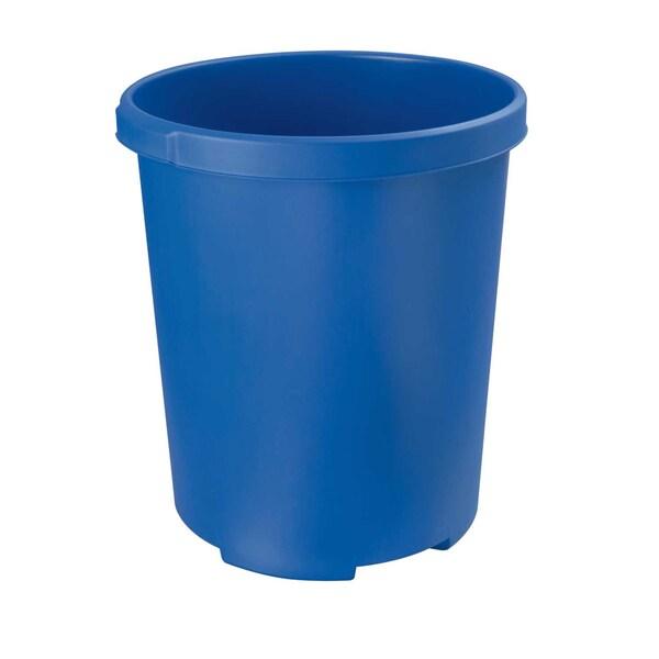 HAN Papierkorb Klassik XXL 50 Liter blau Nr. 1836-14 1 Sortierfach Höhe 49cm