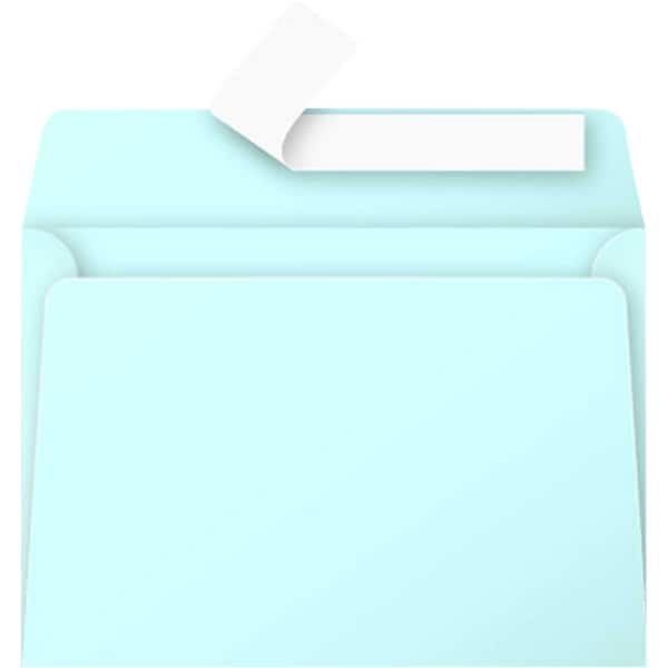 Clairefontaine Briefumschlag C6 haftkle- bend PA 20St blau ohne Fenster 120g