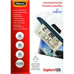 Fellowes Laminierfolie Capture A4 125mic Nr. 5307407 PA 100Stk glänzend