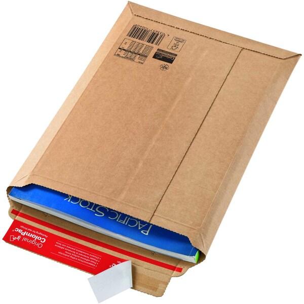 ColomPac Versandtasche A4+ selbstklebend braun ohne Fenster Wellpappe