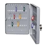 Alco Schlüsselschrank für 80 Schlüssel lichtgrau