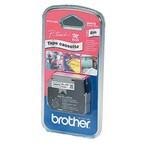 Original Brother Schriftband MK 221 BZ 9mm x 8m schwarz auf weiß