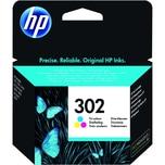 HP Tintenpatrone F6U65AE#UUS Nr.302 165Seiten c/m/y