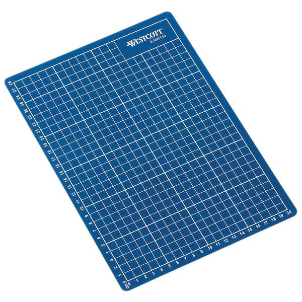 Schneidematte A4 300x220x3mm selbstheilende Oberfläche blau