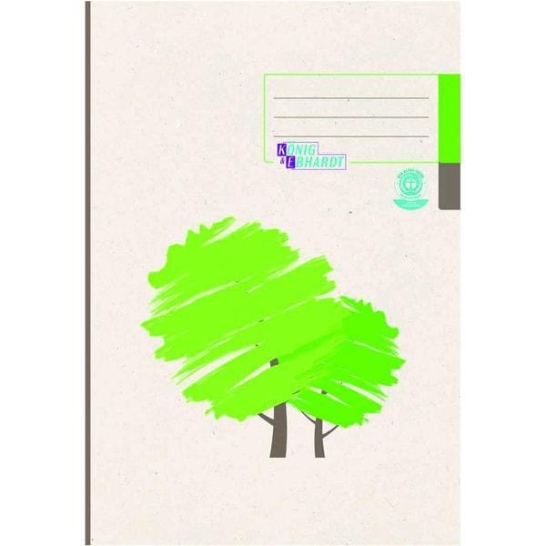 König & Ebhardt Kladde A4 kariert 96 Bl Nr. 861429201 Geschäftsbuchgrüner Baum
