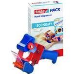 Tesa Handabroller Tesapack Economy Nr. 06300-00001 bis 66m: 50mm Metall