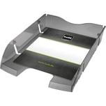 Helit Briefablage A4/C4 transparent grau Nr. H2363508 bruchsicheres PET