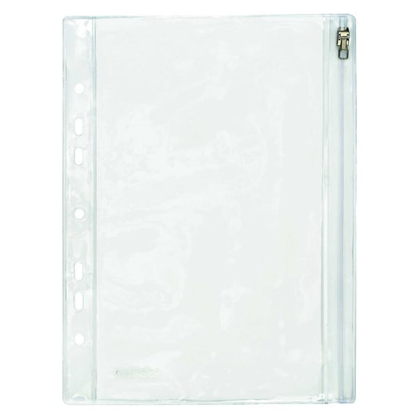 FolderSys Sichttasche PVC 19/213x305cm Nr. 40410-00Klettverschluss Abheftrand