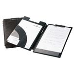 Durable Klemmbrettmappe Karton schwarz Nr. 2332-01. 26.3x38.5cm. schwarz