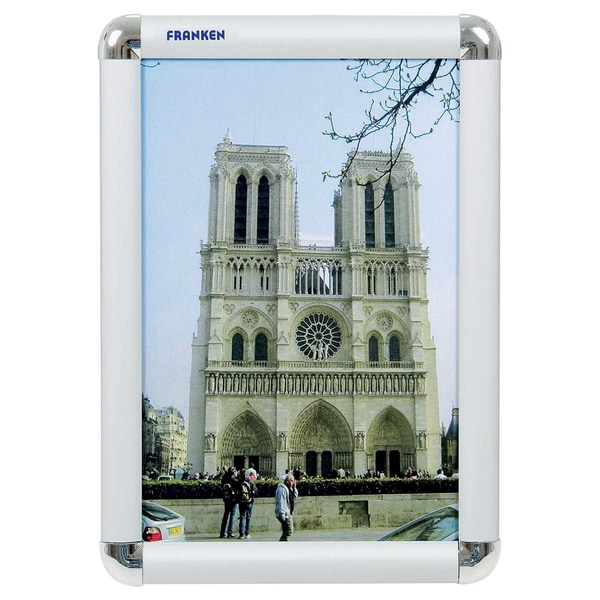 Franken Bilderwechselrahmen A4 Nr. BS0701 210 x 297cm Aluminium