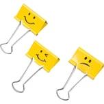 Rapesco FoldbackkLammer Emoji 7x19mm Nr. RP1351 gelb PA= 20Stk