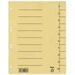 Bene Trennblätter A4 gelb Nr. 97300GE 250g m² Karton