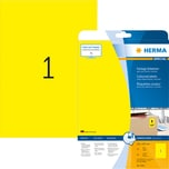 Herma Etikett Special Nr. 4421 gelb PA 20 Stück. 210x297mm Signalwirkung