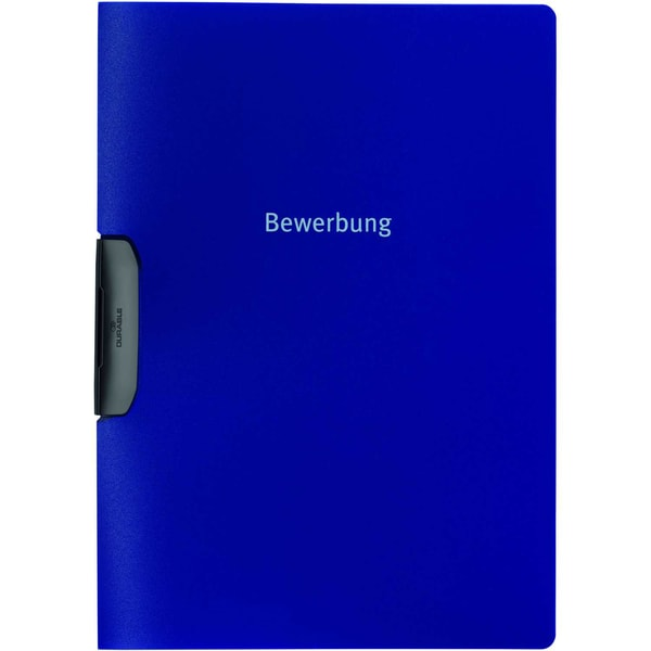 Durable Bewerbungsmappe Duraswing job Nr. 2289-07 für 30 Blatt dunkelblau