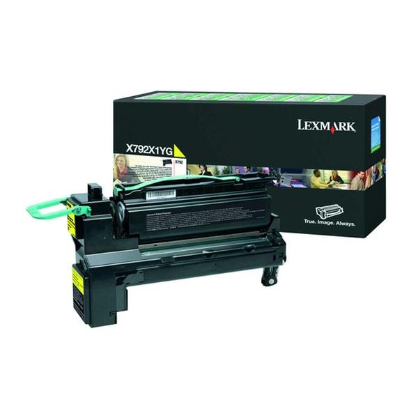 Lexmark Toner X792X1YG 20.000S. gelb