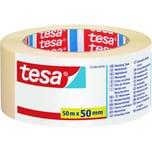 Tesa Kreppband Universal Innenbereich Nr. 05288 50mx50mm beige