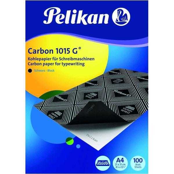 Pelikan Kohlepapier 1015G A4 100Bl schwarz gefärbt