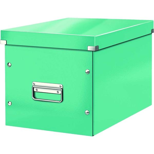 Leitz Archivbox Click & Store Cube A4 Nr. 6108-51 32x36x36cm eisblau