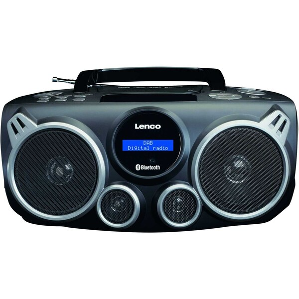 Lenco Radiorekorder SCD-685 BK XXL DAB+ 2381121 schwarz