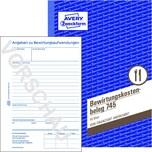 Zweckform Bewirtungskostenbeleg A5 Nr. 745 50 Blatt 60g/m²
