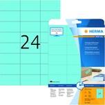 Herma SuperPrint-Etiketten Nr. 4468 blau PA 480 Stück 70x37mm permanent