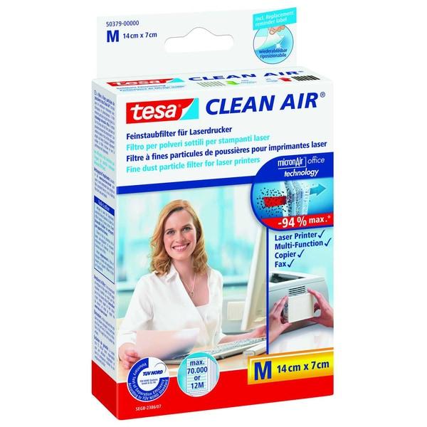 Tesa Clean Air Feinstaubfilter Für Laserdrucker Größe M 14X7Cm