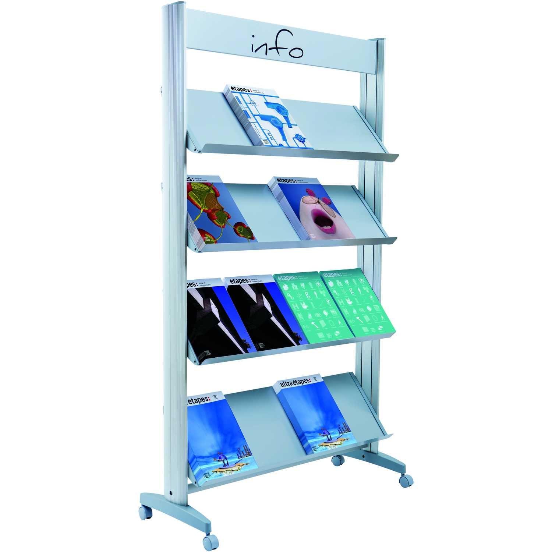 Paperflow Prospektständer Metall Nr. 16.A4TM.35 16 Fächer