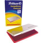 Pelikan Stempelkissen Größe 1 Rot Nr. 331132 9X16Cm Metallgehäuse