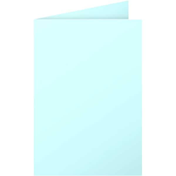 Clairefontaine Faltkarte Pollen C6 210g Nr. 2339C blau PA 25 Stück