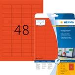 Herma Etikett Special Nr. 4367 rot PA 960 Stk 457 x 212mm